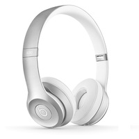 Наушники Beats Solo 2 Wireless серебристые